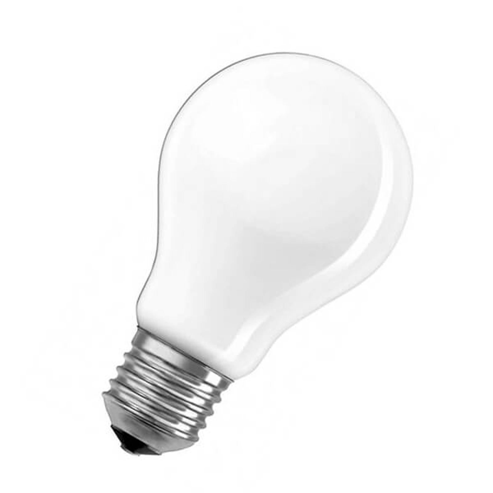 OSRAM-LED-lamppu E27 7W Classic A opaali 840 dim