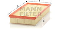 Ilmansuodatin MANN-FILTER C 37 153/1