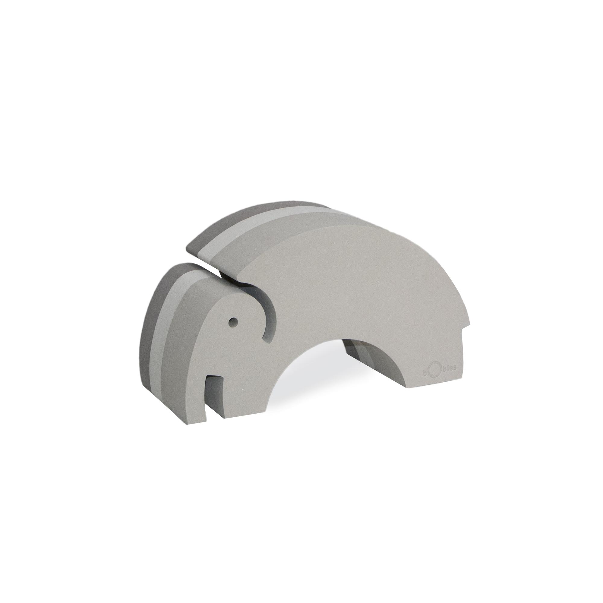 bObles - Medium Elephant, Grey
