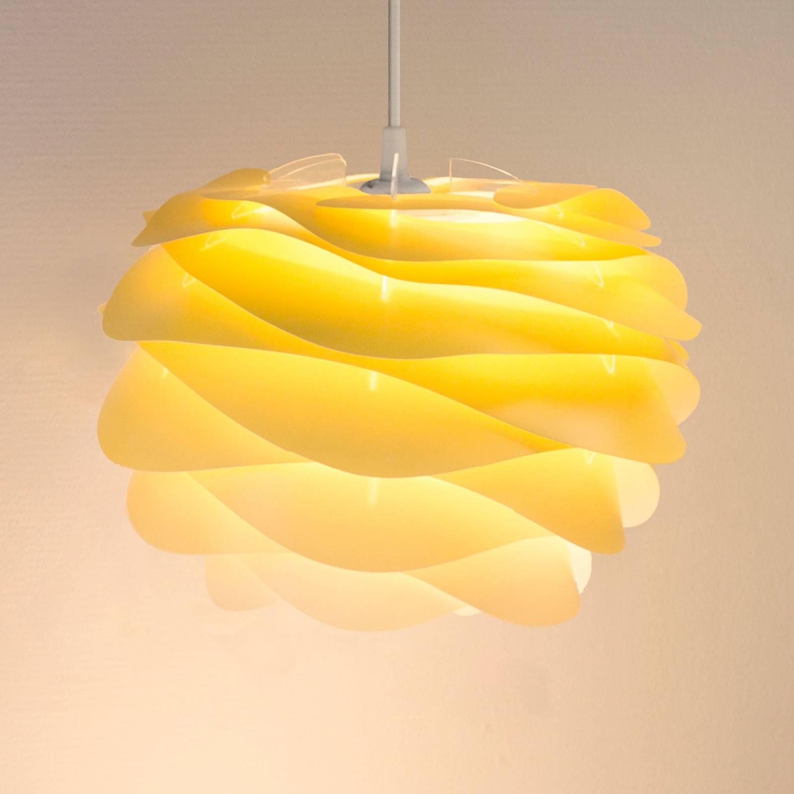 UMAGE Carmina Mini -riippuvalo, keltainen