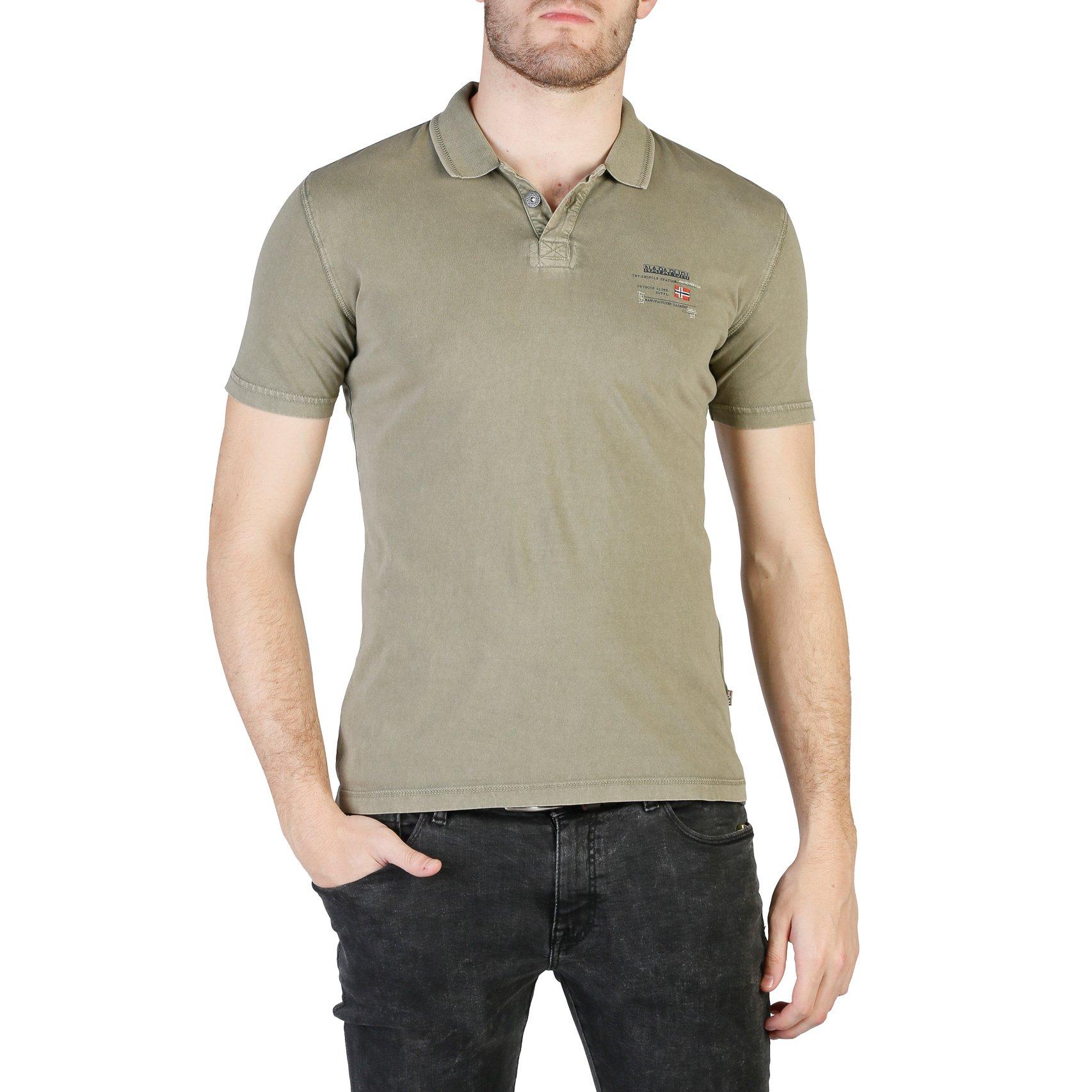 Napapijri Men's Polo Shirt Various Colours N0YHQK - green S