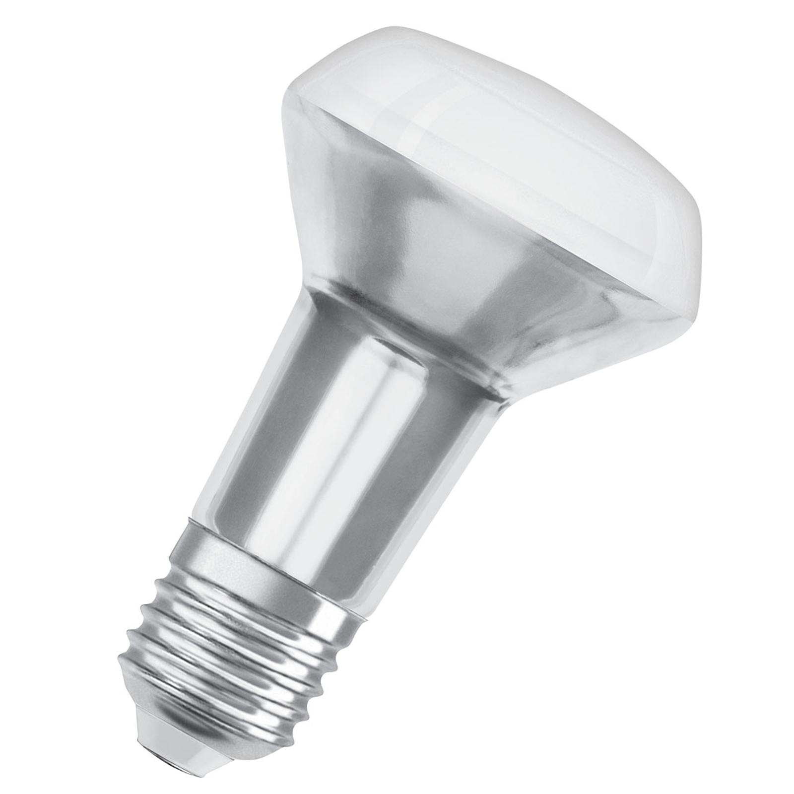 OSRAM-LED-lamppu E27 R63 5,9W 2700 K 36° himmennys