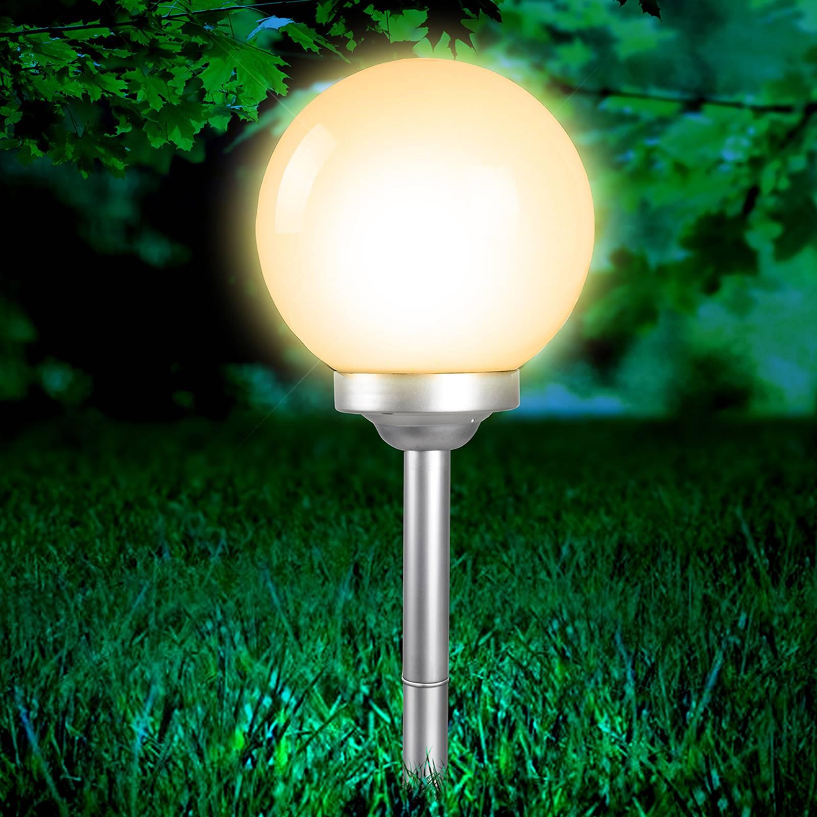 Pyöreä aurinkokäyttöinen lamppu Celyn 25 cm