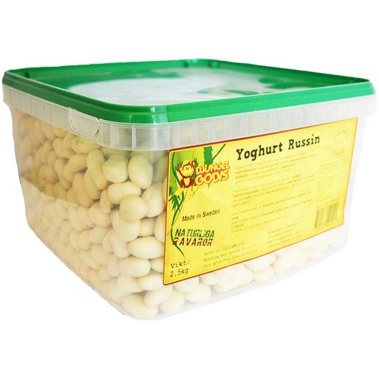 Hel Låda Godis Yoghurt Russin 2,5kg - 62% rabatt