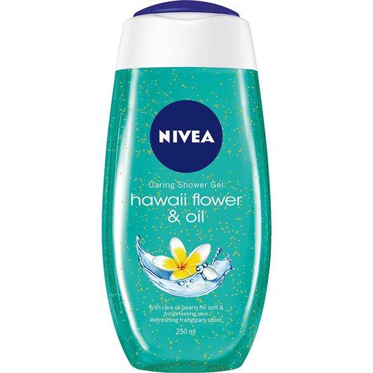 Caring Shower Gel, 250 ml Nivea Kylpy & Suihku