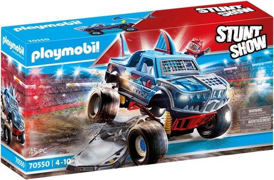 Playmobil 70550 Stuntshow – Shark Monstertruck