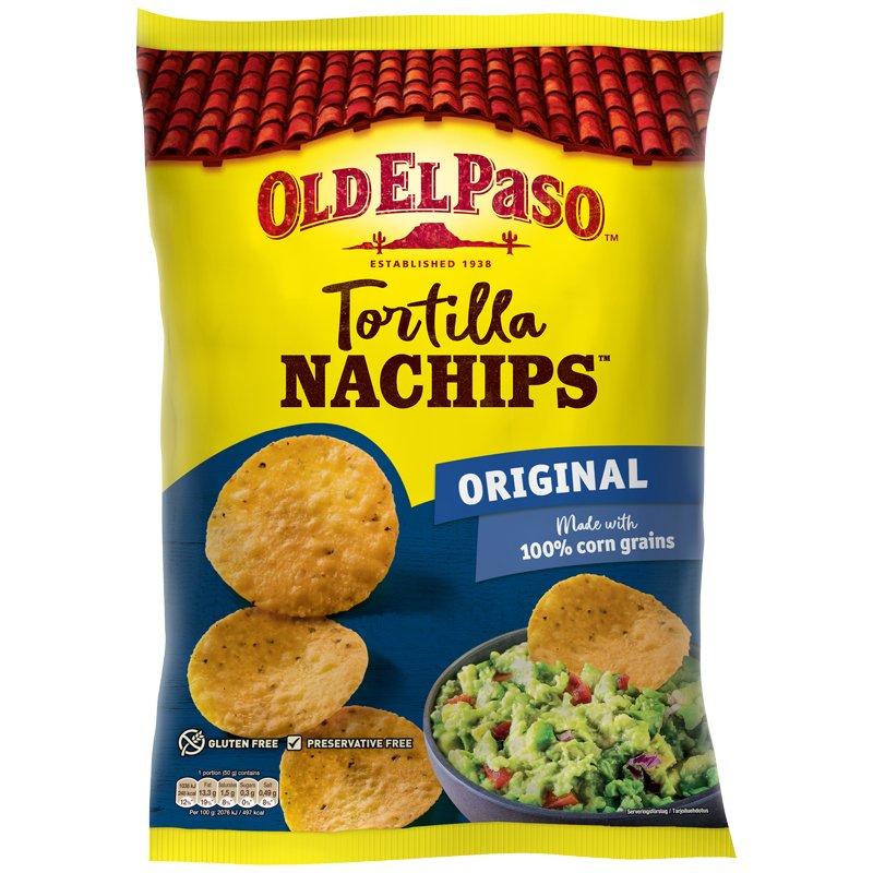 Tortillasipsit Crunchy Nachips - 46% alennus
