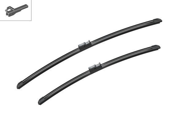 Flatbladesats A970S 600/500