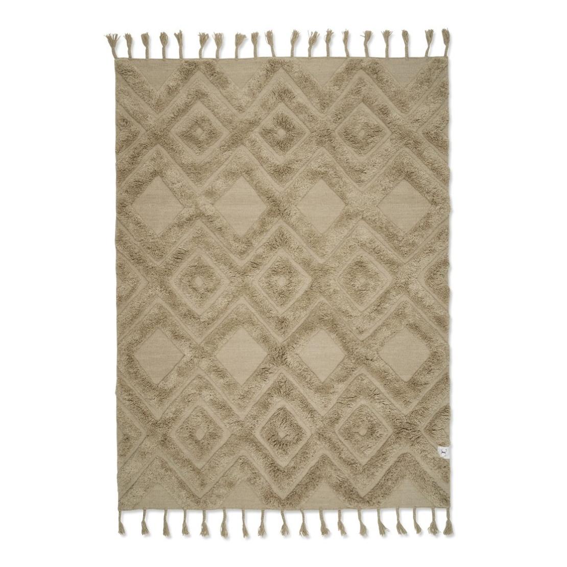 COPENHAGEN Wool Beige 170 x 230 cm, Classic Collection