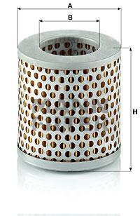 Ilmansuodatin MANN-FILTER C 711/1