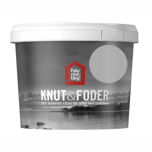 FALU RÖDFÄRG KNUT&FODER GRÅ 1L