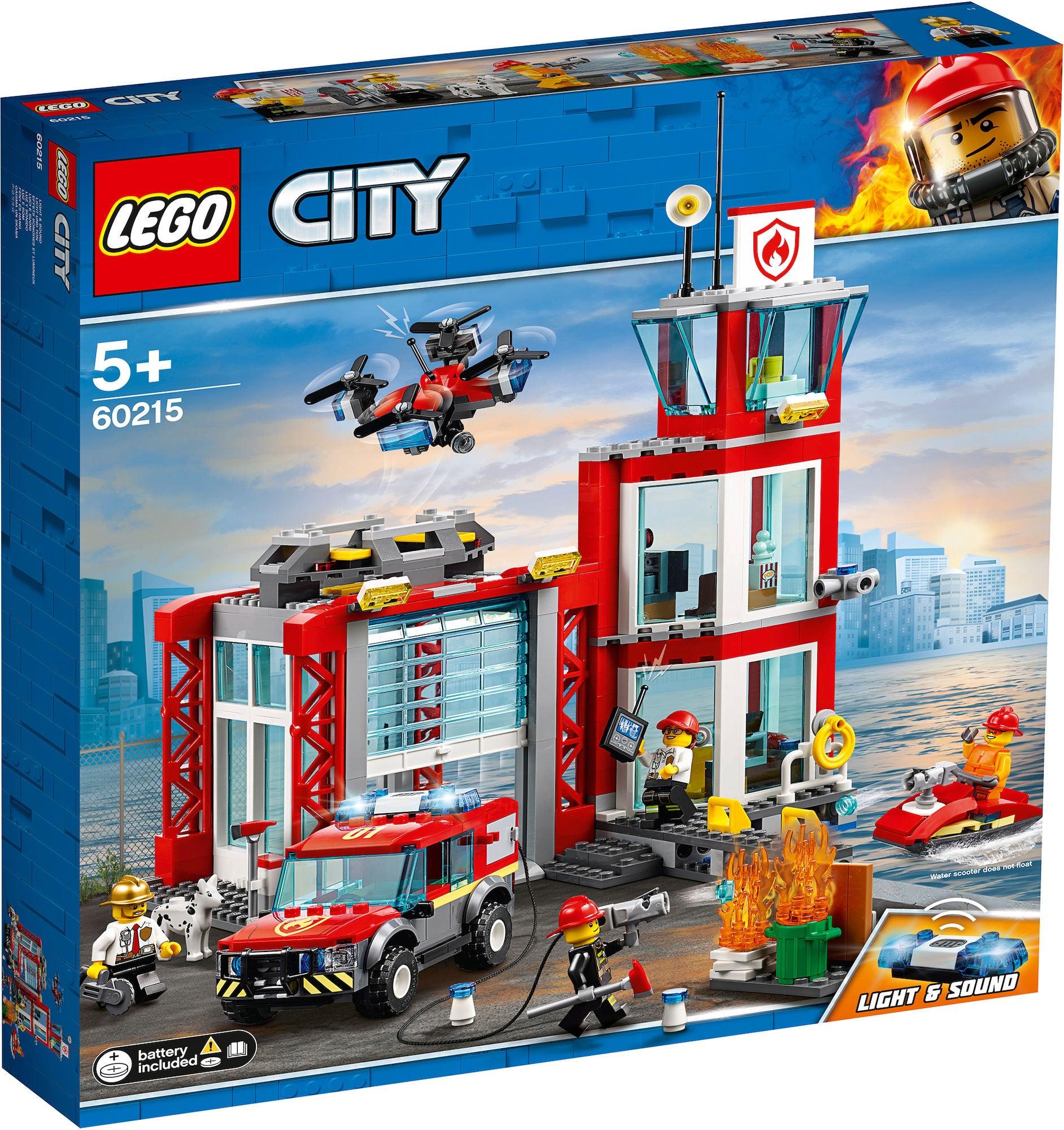 LEGO City Fire 60215 Paloasema