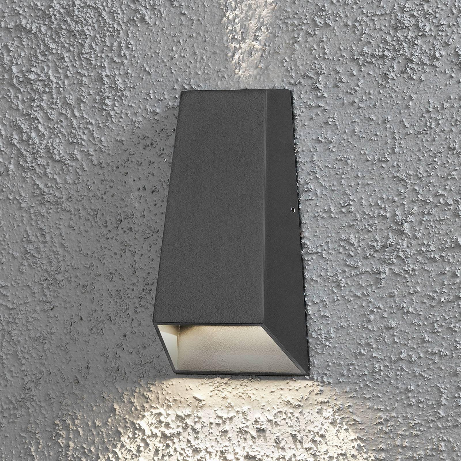 Imola utendørs LED-vegglampe dobbel lyskjegle