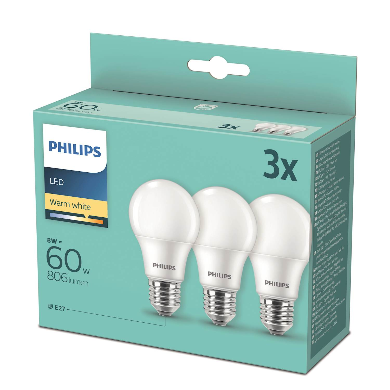 Philips Ljuskälla LED 60W NORM E27 FR