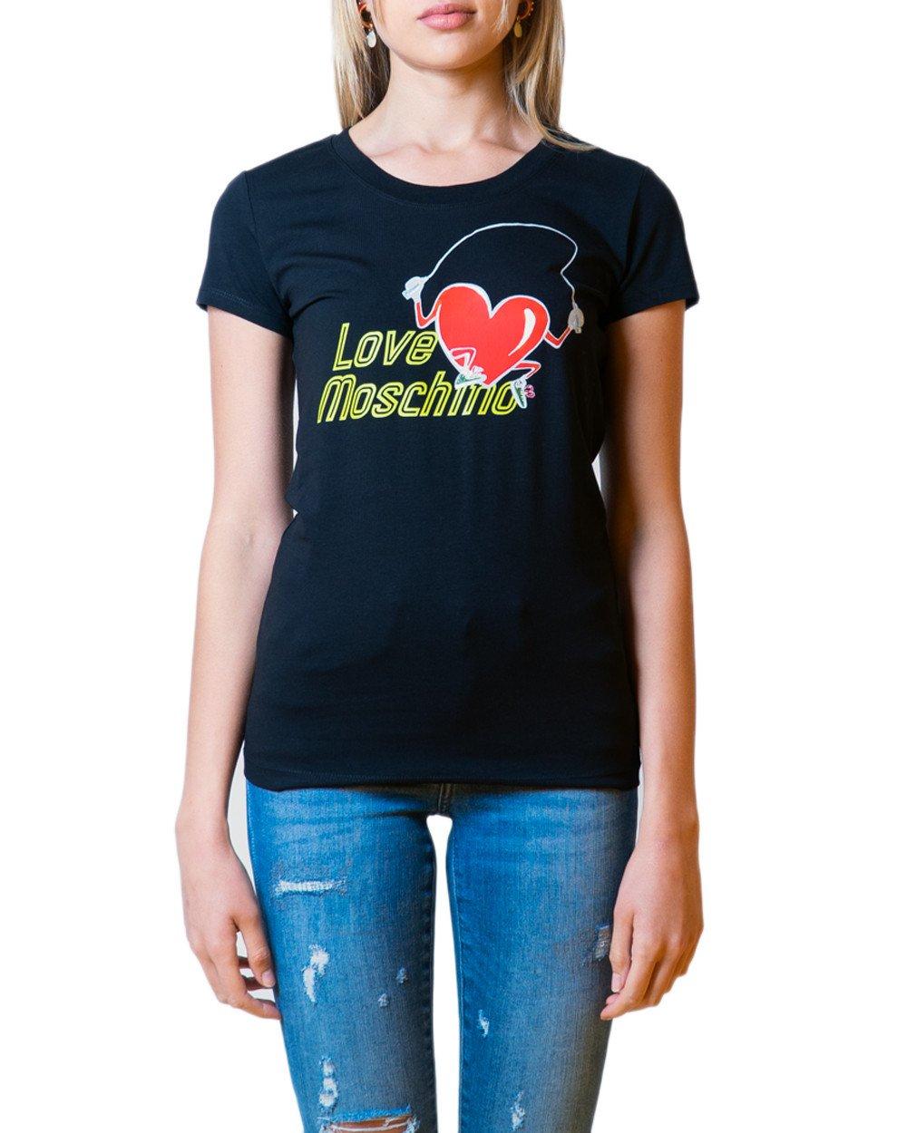 Love Moschino Women's T-Shirt Various Colours 175779 - black 38