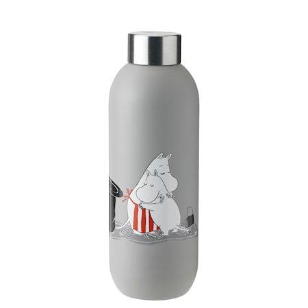 Keep Cool drinking bottle, 0,75 l. – light grey – Mummi