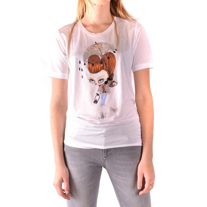 Dsquared Women's T-Shirt White 166056 - white M