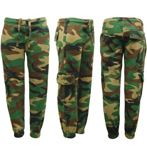 Game Technical Apparel Kid's Tracksuit Army Game Woodland - 13 Years Jogger