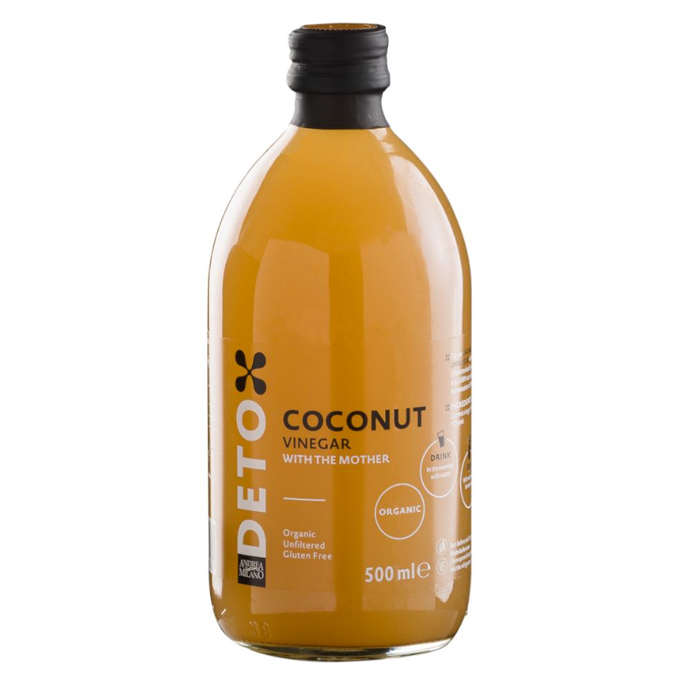 Deto Organic Coconut Vinegar 500ml by Andrea Milano