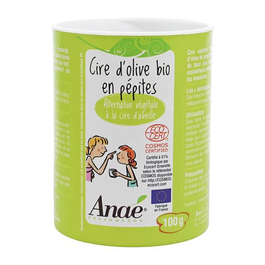 Anaé Ekologiskt Oliv-vax Granulat, 100 g