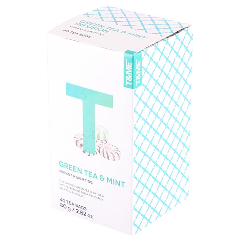 "Te ""Green Tea & Mint"" 40-pack - 62% rabatt"