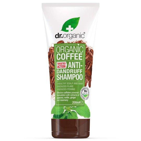 Dr. Organic Coffee Mint Anti-Dandruff Shampoo, 200 ml