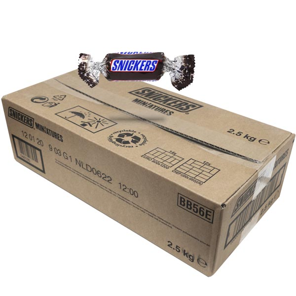 Snickers Miniatures - 2,5 kg