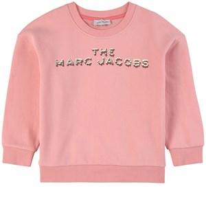 The Marc Jacobs Logo Sweatshirt Rosa 2 år