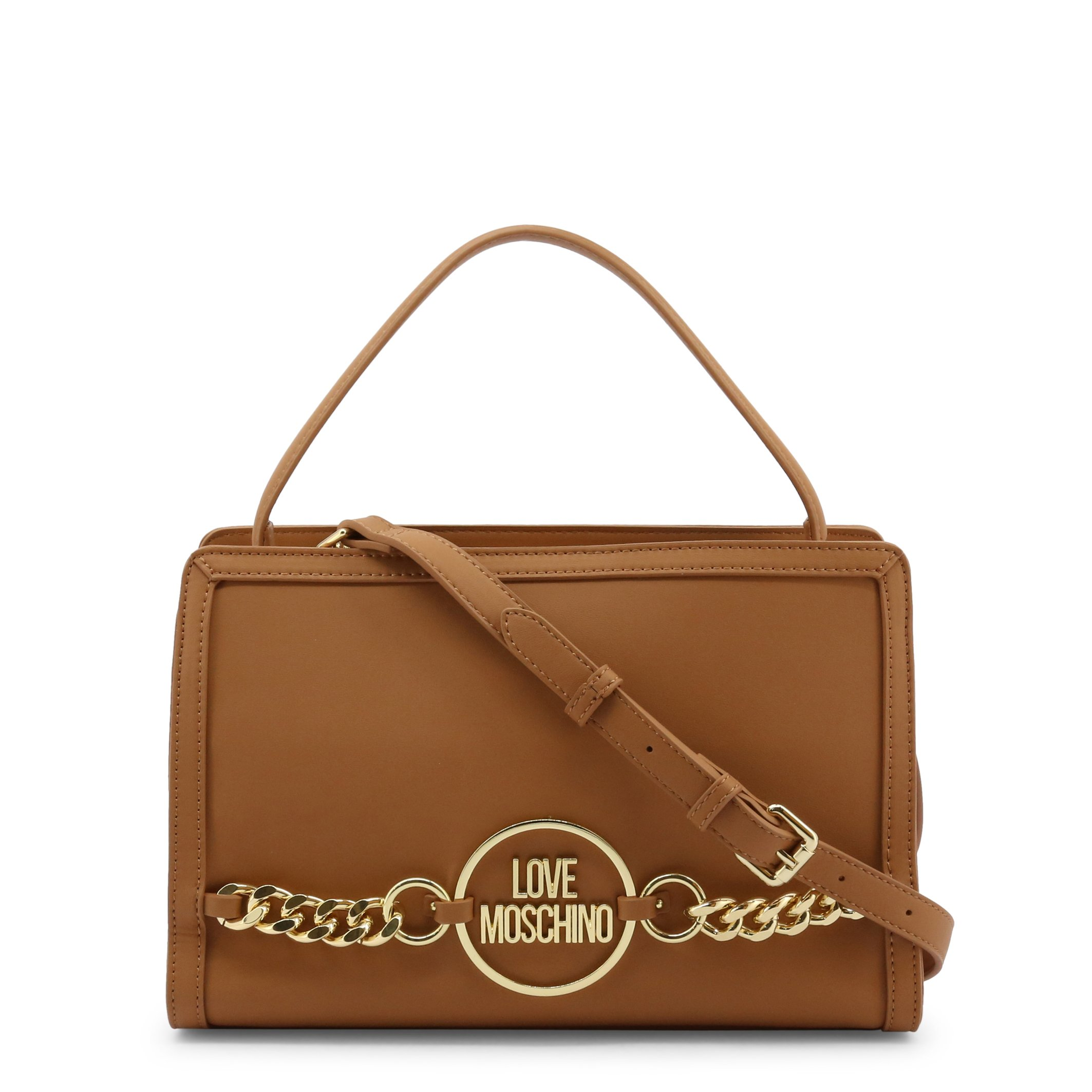 Love Moschino Women's Handbag Various Colours JC4153PP1DLE0 - brown NOSIZE