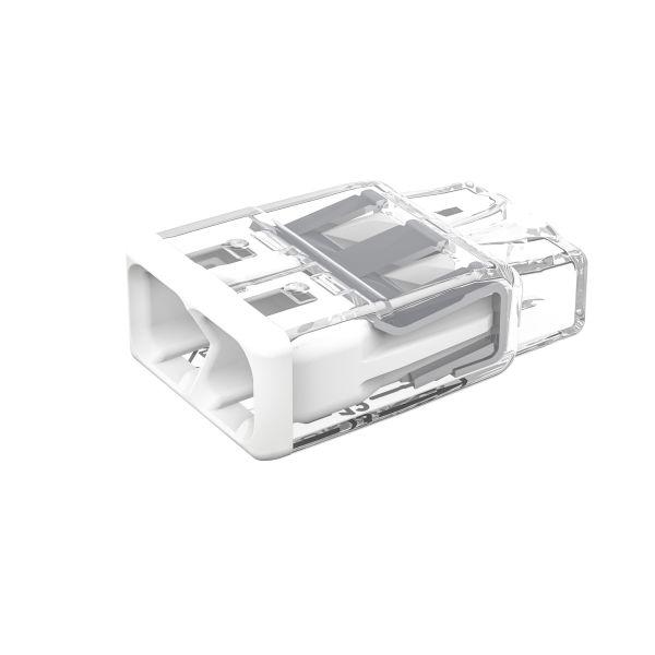 Wago 2773-402 Toppklemme 450 V 2-polet, hvit, 120-pakning