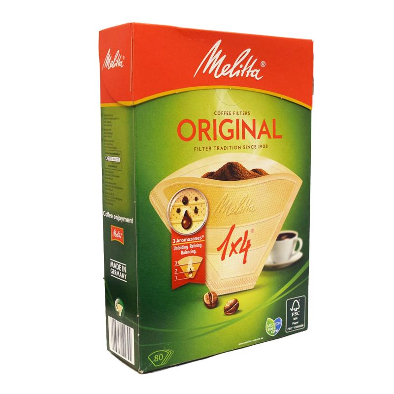 Kaffefilter Oblekta 80-pack - 20% rabatt