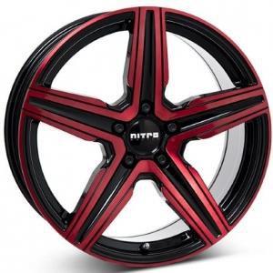 Nitro Spark Gloss Black Red 8x18 5/108 ET45 B65.1
