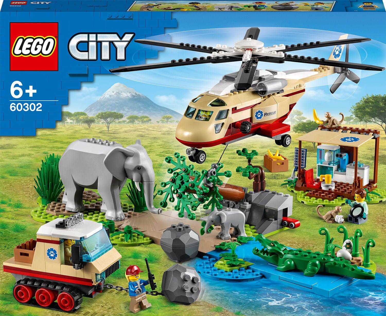 LEGO City Wildlife 60302 Pelastusoperaatio