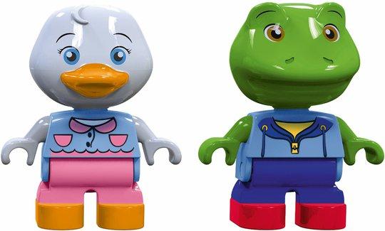 AquaPlay Figurer Frosk og And