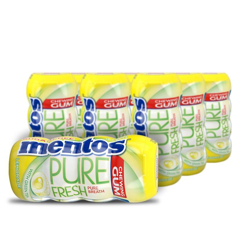 "Laatikollinen Purukumia ""Pure Fresh Lemonade"" 10 x 13g - 33% alennus"