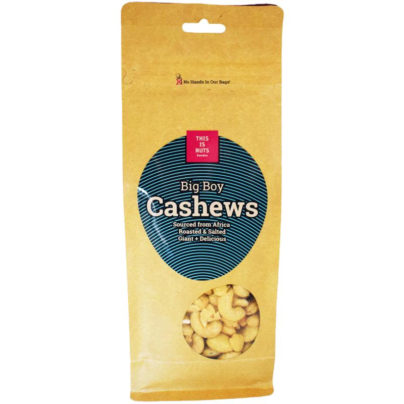 "Cashewnötter ""Big Boy"" 500g - 70% rabatt"