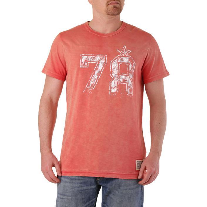 Diesel Men's T-Shirt Red 278403 - red L