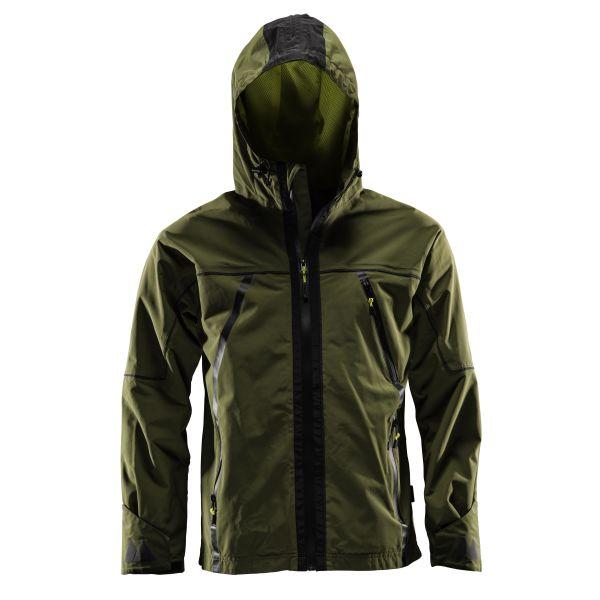 Monitor Shell Jacket Vindjacka olivgrön Strl XS