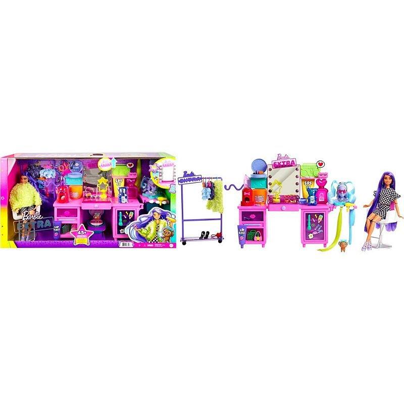 Barbie - Extra Doll & Playset (GYJ70)