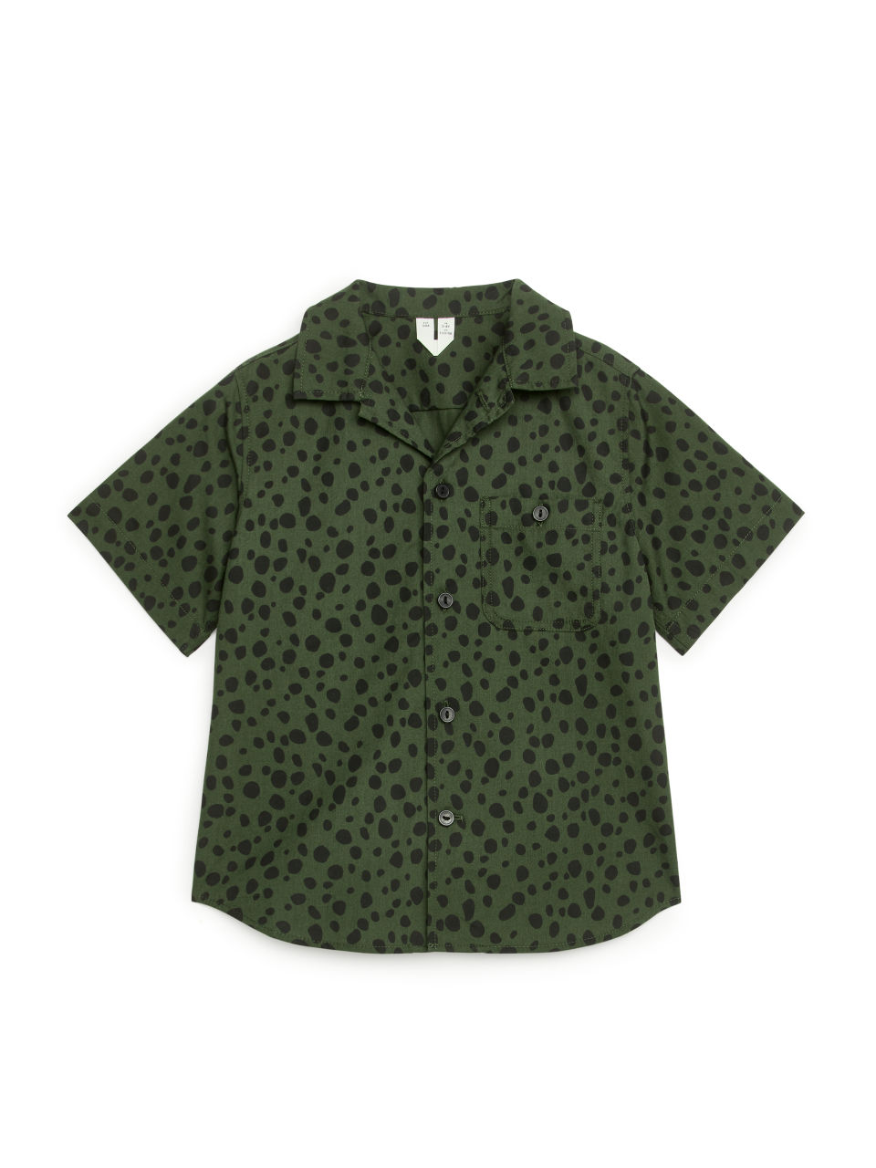 Short-Sleeved Shirt - Green