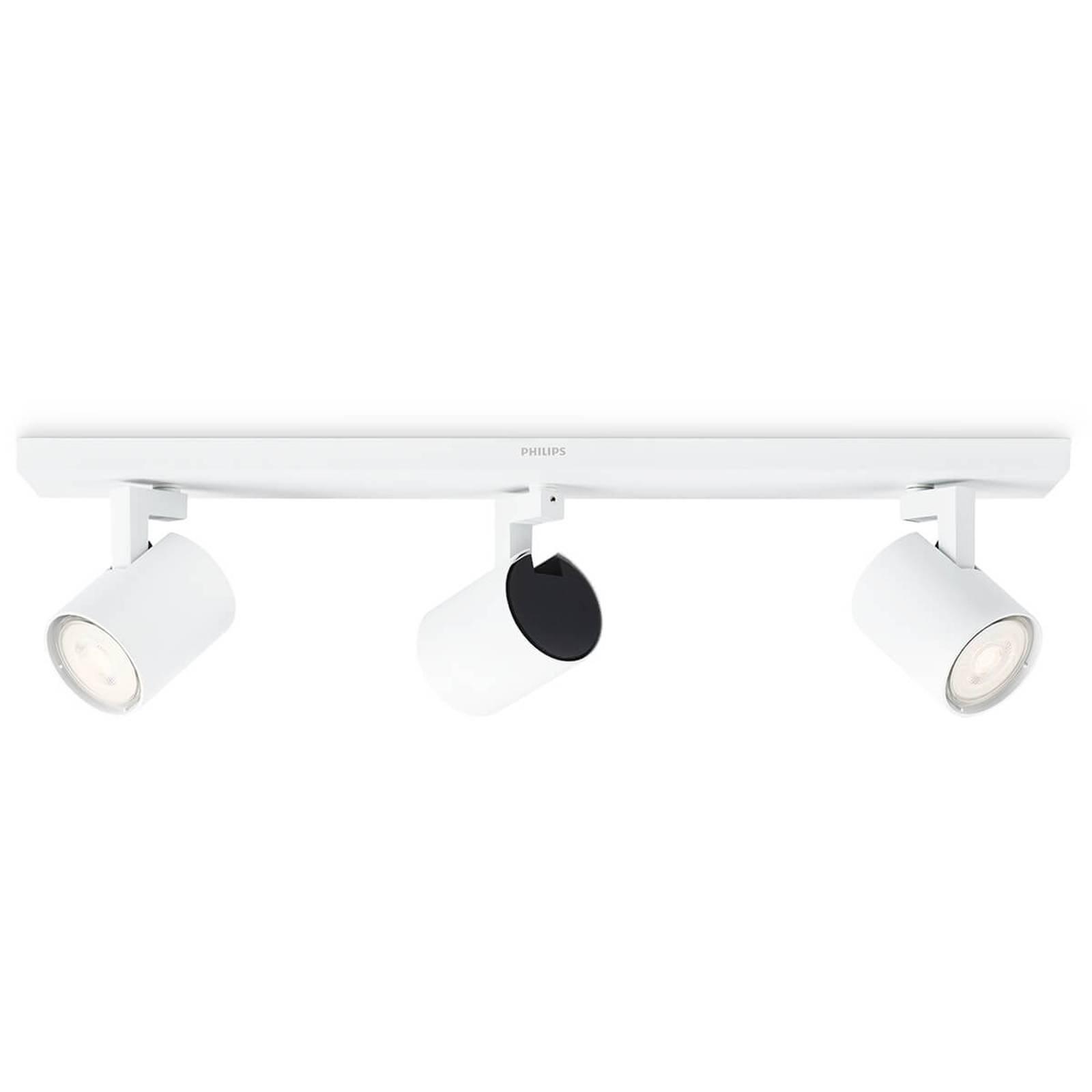 Philips Runner LED-taklampe hvit 3 lyskilder