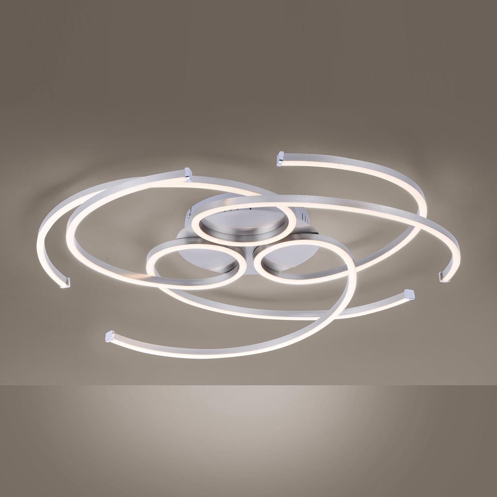 LED-kattovalaisin Danilo himmennys seinäkytkimellä