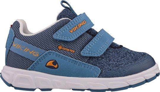 Viking Rindal GTX Sneaker, Denim/Navy, 22