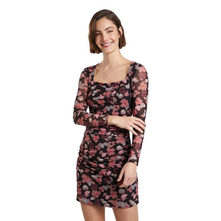 Desigual - Desigual Women Dress - brown M