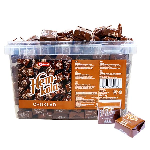 Hemkola Choklad 2 kg