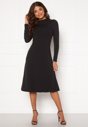 Happy Holly Tilda puffsleeve dress Black 52/54