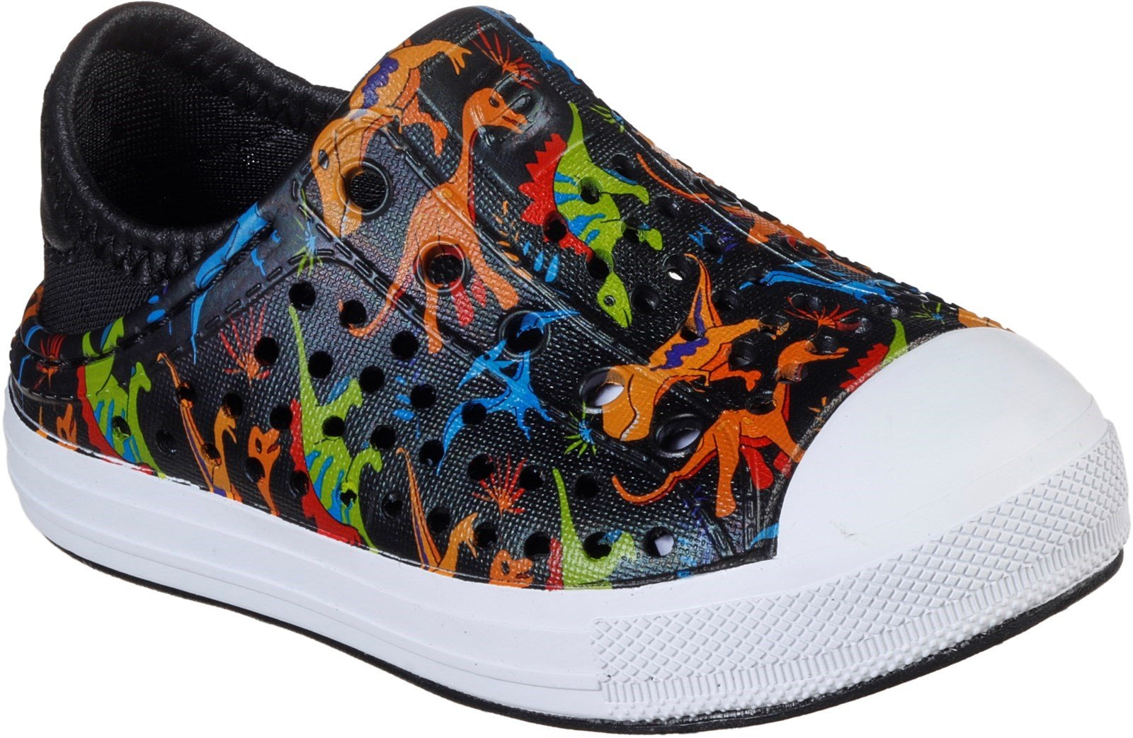 Skechers Women's Guzman Steps Lil Dino Beach Sandal Multicolor 30784 - Black/Multi 4