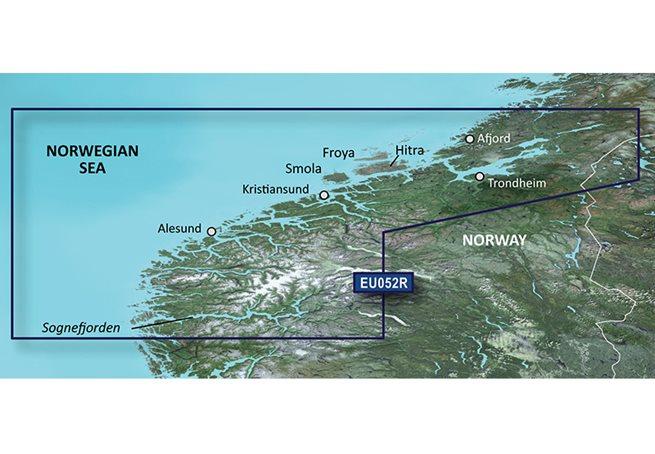 Garmin Sognefjorden - Svefjorden Garmin microSD™/SD™ card: HXEU052R