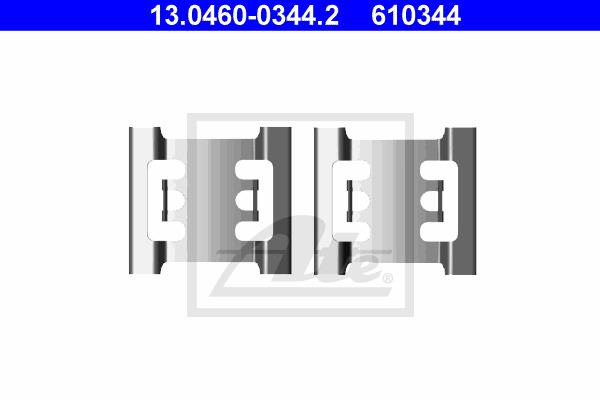 Tarvikesarja, jarrupala ATE 13.0460-0344.2