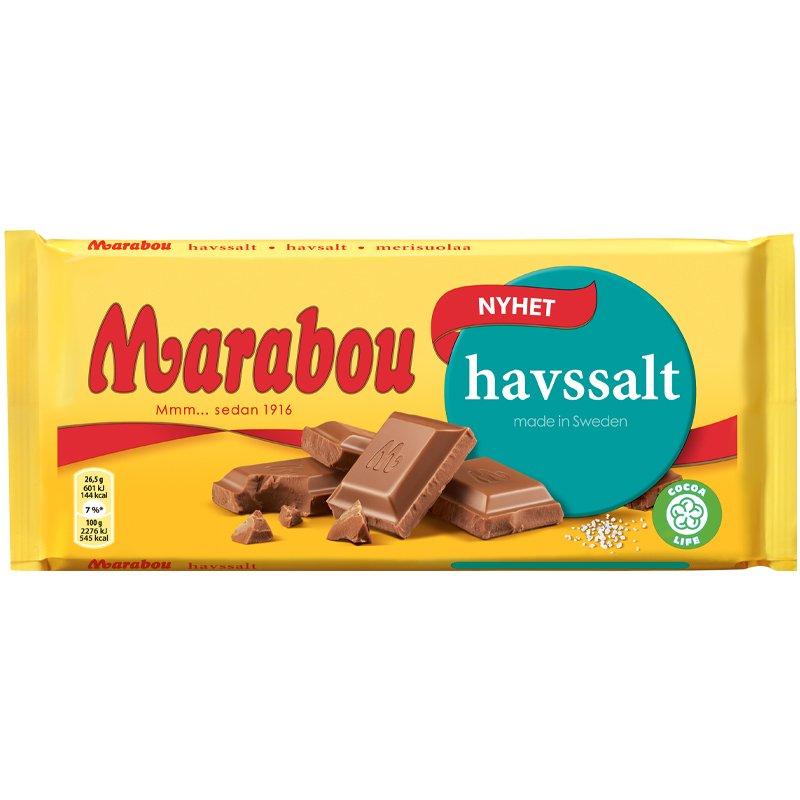Suklaalevy Merisuolaa - 23% alennus